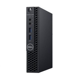 Desktop Dell OptiPlex 3060 SFF, Intel Core i3-8100 (6M Cache, 3.60 GHz), Intel Integrated Graphics, Dell OptiPlex, 8GB 1X8GB DDR4 2666MHz UDIMM Non-ECC, M.2 256GB SATA Class 20 Solid State Drive, 8xDVD+/-RW 9.5mm Optical Disk Drive, No Wireless LAN Card,