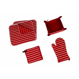 SET BUCATARIE 15 PIESE RED