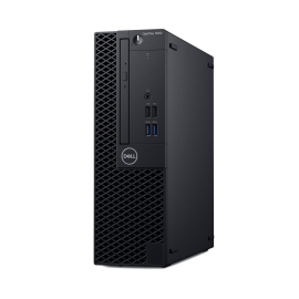 Desktop Dell OptiPlex 3060 MT, Intel Core i3-8100 (6M Cache, 3.60 GHz), Intel Integrated Graphics, 4GB (1x4GB) 2666MHz DDR4, 1TB SATA (7.2k rpm) 3.5, 8x DVD+/-RW 9.5mm Optical Disk Drive, No Wireless, TPM Enabled, I/O Ports: 8x External USB: 4x USB 3.1 Ge