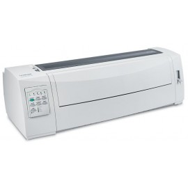 Imprimanta matriceala Lexmark 2581+, 9 ace, Rezolutie 240x144 dpi, Memorie 512 MB, Viteza de imprimare 618 cps Fast Draft, 400 cps Draft si 100 cps  Near Letter Quality, alimentator tractor in partea din fata, Paralel bidirectional si USB , Linie maxima d