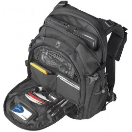 Dell Notebook carrying backpack Targus Campus, 16'', Neoprene, Zippered, removable waist strap, mesh accessory pocket, air mesh padded back, Hand grip, waist strap, shoulder carrying strap, Additional Compartments: Mobile phone, pens, personal accessories