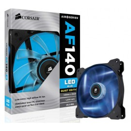 Cooler carcasa Corsair AF140 LED Blue Quiet Edition High Airflow, 140x25mm, 3pin