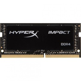 Memorie RAM Kingston, HyperX Impact Black, SODIMM, DDR4, 8GB, 2666MHz, CL15, 1.2V