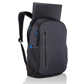 Dell Notebook carrying backpack Urban 15, 15.6'', Foam padding ,Additional Compartments: Mobile phone, bottle, keys, tablet, Color: DarkGrey
