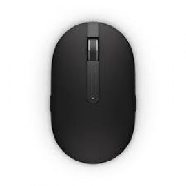 Dell Mouse WM326 Wireless 1600 dpi laser tracking, 7 buttons, Scrolling wheel, wireless receiver, Color: Black