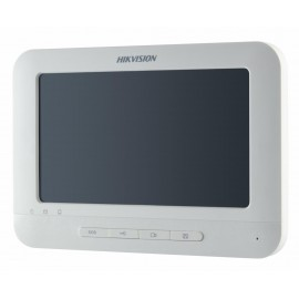 "Monitor videointerfon color Hikvision DS-KH6310-W ,7""Touch-ScreenIndoorStation, 7-Inch Colorful TFT LCD, displayresolution:800 * 480,10/100Mbps Ethernet, Wi-Fi 802.11b/g/n, 8-ch alarminput,Power OverNetwork Cable/ 12 VDC, Dimensions(L × W × H): 217 m"
