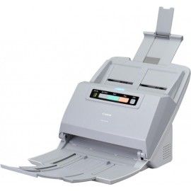 Scanner Canon DRM160II, dimensiune A4, tip sheetfed, viteza de scanare: Alb-negru: 200/300 dpi, 40 ppm/80 ipm, Color: 200 dpi, 300 dpi: 40 ppm/80 ipm, rezolutie optica 600dpi, senzor CIS, software inclus: Driver ISIS/TWAIN, CaptureOnTouch, CapturePerfect