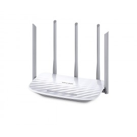 Router Wireless TP-Link ARCHER C60, 4*10/100Mbps LAN Ports ,1*10/100MbpsWAN Port, 2 antene*5GHz/3 antene 2.4GHz, dual-band AC1350(450/867Mbps),Buton Wireless ON/OFF, compatibil streaming video 4K
