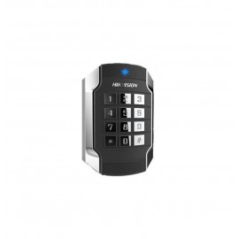 Card reader Hikvision, DS-K1104MK; Mifare 1 card, with keypad; Supports RS485 and Wiegand(W26/W34) protocol; Tamper-proof alarm, Dust-proof, Vandal Proof, IP 65; Applied for 86 and 120 Gang Box.