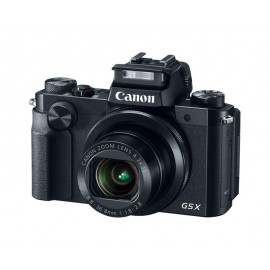 "Camera foto Canon PowerShot G5x, 20.2 MP, BSI-CMOS tip 1,0 cuiluminaredin spate, 4,2 x zoom optic, 3.0"" ecran tactil rabatabil, WiFi,stabilizator optic de imagine IS, DIGIC 6 cu tehnologie iSAPS, ISO 125-12800, FHD movies 60 fps, fotografii extraordi"