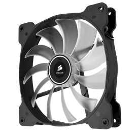Cooler carcasa Corsair AF140 LED Low Noise Cooling Fan, 1200 RPM, Dual Pack - White