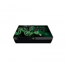Controller Razer Atrox Arcade stick for Xbox one, 8 tournament-grade Sanwa buttons, Authentic Sanwa joystick with ball top and additional bat top, Fully accessible internals and storage compartments for easy modding, Screwdriver included for modding