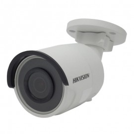Camera de supraveghere Hikvision IP Bullet Outdoor, DS-2CD2045FWD-I (2.8mm); 4MP; Powered by Darkfighter;4MP @ 30fps, 1/2.7 Progressive Scan CMOS, Color 0.009 lux, 120dB WDR, H.265 +/MJPEG, EXIR, up to 30m, IP67, Fixed Lens, DC12V and PoE, HIK-Connect cl