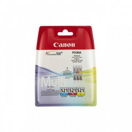 CANON CLI-521CMY INKJET PACK CARTRIDGES