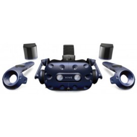 "HTC Vive Pro Virtual Reality Headset (Kit), 99HANW003-00; Display Type: AMOLED; Total resolution: 2880 x 1600; Screen size (inches): 3.5""; Sensors: Accelerometer, magnetometer, Gyroscope, Proximity sensor; Picture Matrix: PenTile Matrix;"