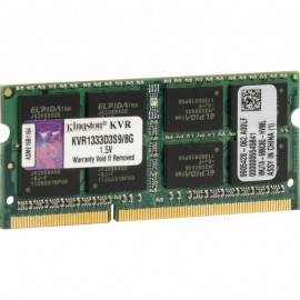 Memorie RAM notebook Kingston, SODIMM, DDR3, 8GB, 1333MHz, CL9, 1.5V