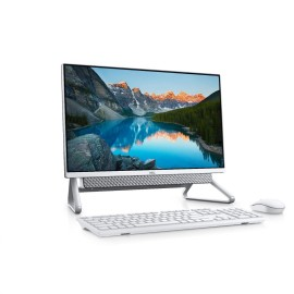 Inspiron All-In-One 5490, 23.8-inch FHD (1920 x 1080) Anti-Glare Narrow Border AIT Infinity Touch Display, Silver Back Cover, Pafilia Stand, 10th Generation Intel Core i5-10210U Processor (6MB Cache, up to 4.4 GHz), Integrated Graphics, 8GB, 8Gx1, DDR4, 2