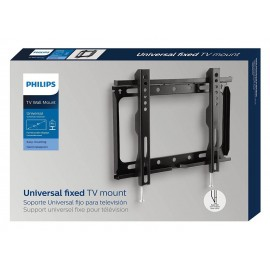 "Fixed wall mount Philips for up to 42"" (107 cm))- universal; Supports weights of up to 25 kg (55 lbs); VESA wall mount compatible: 100 x 100mm, 200 x 200 mm."