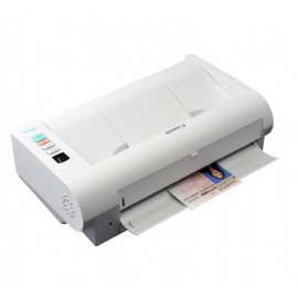 Scanner Canon DRM140, dimensiune A4, tip sheetfed, viteza de scanare: Alb-negru: 200/300 dpi, 40 ppm/80 ipm, Color: 200 dpi, 300 dpi: 40 ppm/80 ipm, rezolutie optica 600dpi, senzor CIS,  Software inclus: Driver ISIS/TWAIN, CaptureOnTouch, CapturePerfect 3