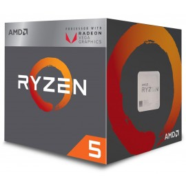 AMD CPU RYZEN 5 2400G YD2400C5FBBOX
