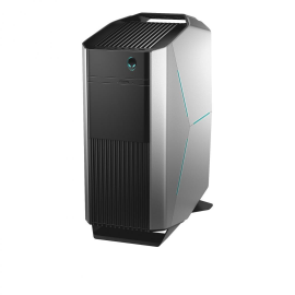 Dell Gaming Desktop Alienware Aurora R8, 850W EPA Bronze PSU Liquid Cooled Chassis, , Intel(R) Core(TM) i7 9700K (8-Core/8-Thread, 12MB Cache, Overclocked up to 4.6GHz across all cores), NVIDIA GeForce RTX 2080 OC with 8GB GDDR6, 32GB DDR4 at 2666MHz Dual