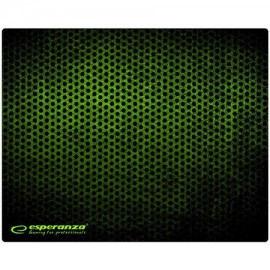 MOUSE PAD GAMING GREEN 25X20