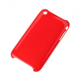 BACK COVER CASE IPHONE 3G/3GS ROSU