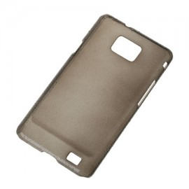 BACK COVER CASE GALAXY S2 NEGRU