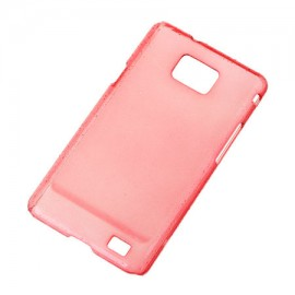 BACK COVER CASE GALAXY S2 ROSU
