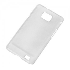 BACK COVER CASE GALAXY S2 TRANSPARENT