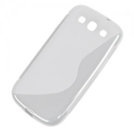 BACK COVER CASE GALAXY S3 TRANSPARENT