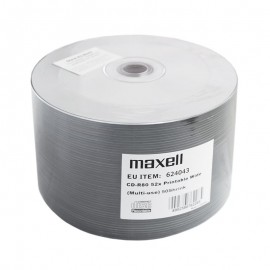 CD-R MAXELL 700MB 52X PRINTABIL SET 50 BUC